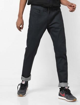 Levis presented solid black jeans