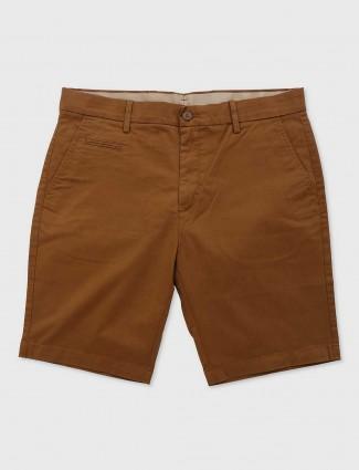 Levis slim fit rust orange shorts