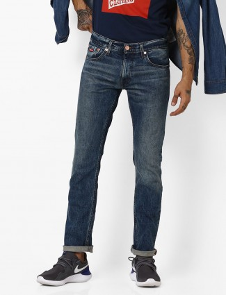 Levis smoke blue color jeans