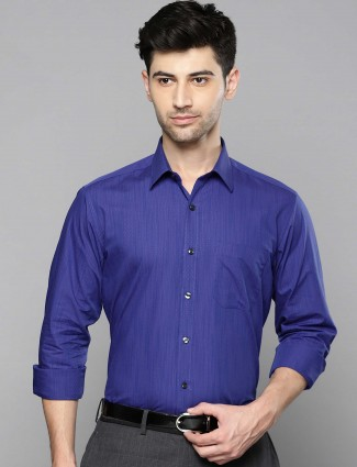 Louis Philippe royal blue shirt