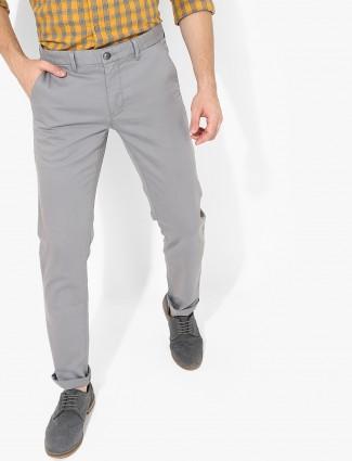 LP grey cotton fabric trouser