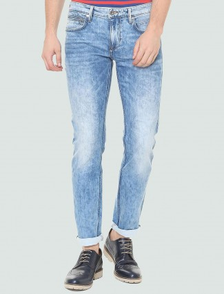 LP light faded blue jeans