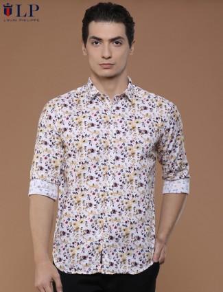 LP off white color cotton shirt