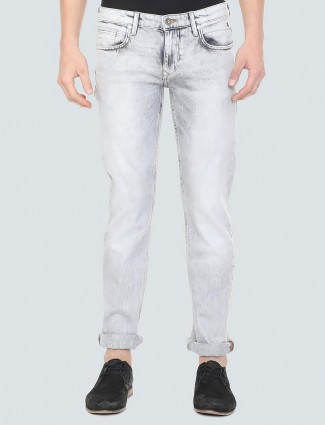LP simple washed grey color jeans