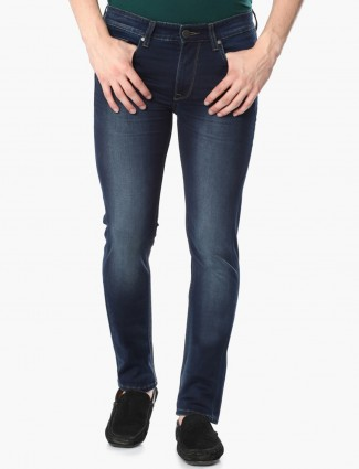 Lp Solid navy denim casual wear jeans