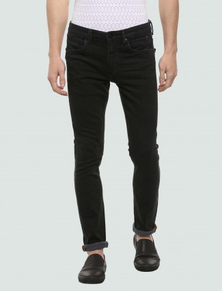 LP Sport black colored solid jeans