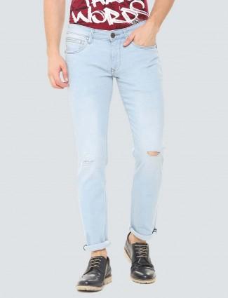 LP Sport light blue ripped jeans
