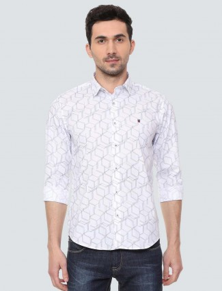 LP Sport printed white colored shirt