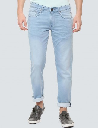 LP Sport sky blue solid jeans