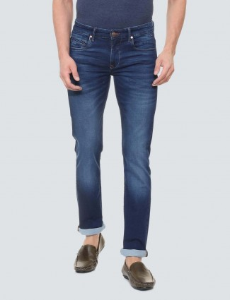 LP Sport solid royal blue mens jeans