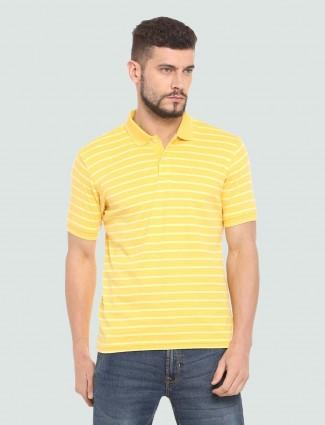 LP Sport striped yellow hued t-shirt