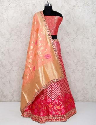 e046dceb54b Banarasi silk Lehenga Cholis Shopping