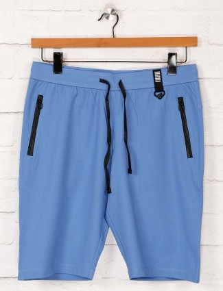 Maml aqua cotton slim fit shorts