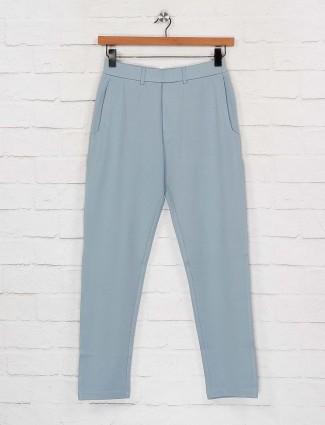 Maml light grey simple track pant