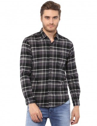 Mufti casual black shirt