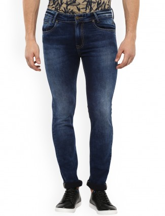 Mufti dark blue color mans jeans