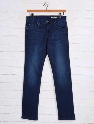 Mufti dark blue denim casual jeans