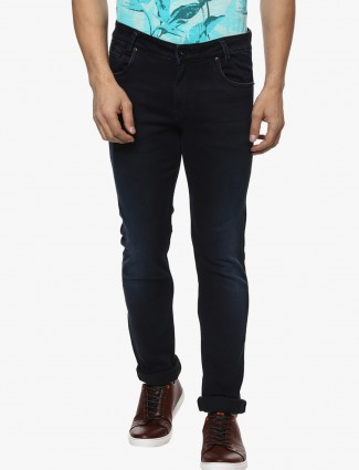 Mufti navy nerrow fit jeans