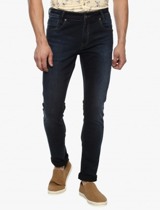 Mufti simple navy jeans