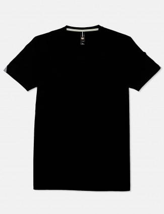Mymera black printed t-shirt
