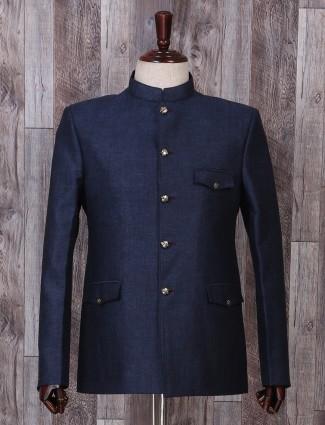 Navy hue jodhpuri style blazer