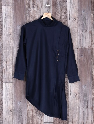 navy kurta suit for festive function
