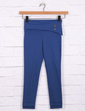 Nodoubt blue hue cotton casual wear jeggings
