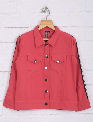 Nodoubt presented peach cotton casual top