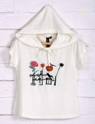 Nodoubt white cotton casual top