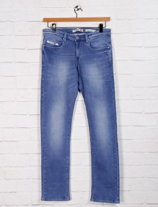 Nostrum denim slim fit blue jeans