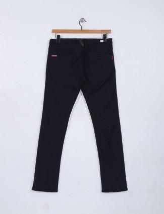 Nostrum jet black plain jeans