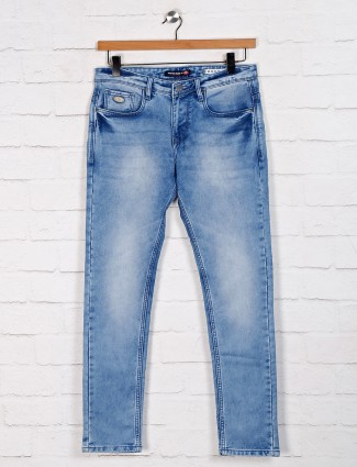 Nostrum presented washed blue jeans