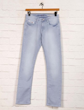 Nostrum presented washed grey jeans