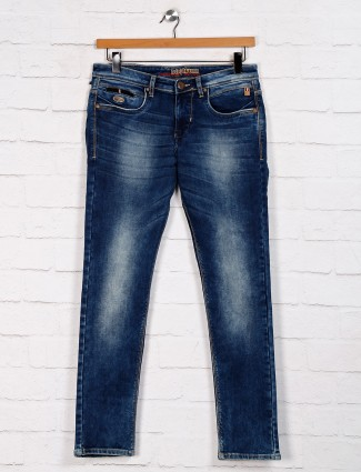 Nostrum washed blue jeans