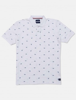 Octave presented white printed t-shirt