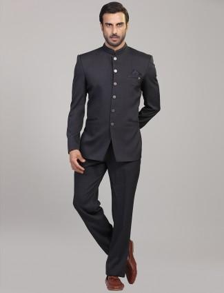 Party function grey jodhpuri suit