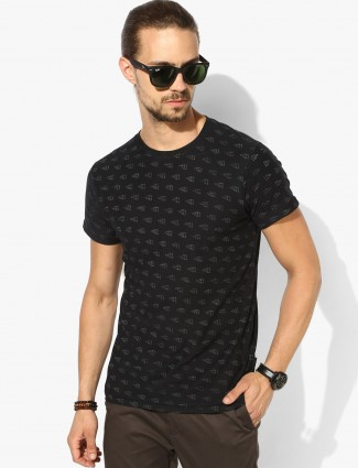 Pepe Jeans black color printed t-shirt