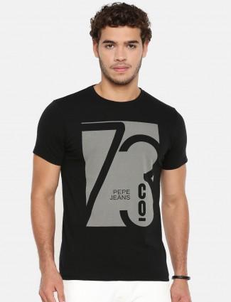 Pepe jeans black color t-shirt