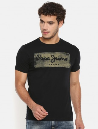Pepe jeans black simple t-shirt