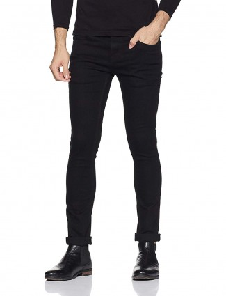 Pepe Jeans black solid jeans