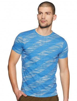 Pepe Jeans blue hue solid t-shirt