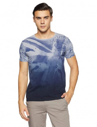 Pepe Jeans blue slim fit t-shirt