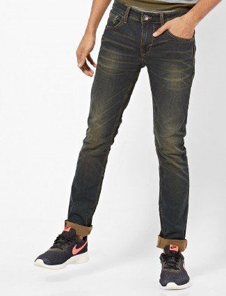Pepe Jeans brown solid jeans