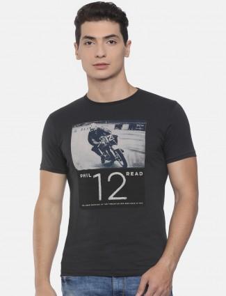 Pepe jeans dark grey simple t-shirt