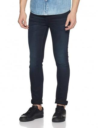 Pepe Jeans dark navy denim jeans