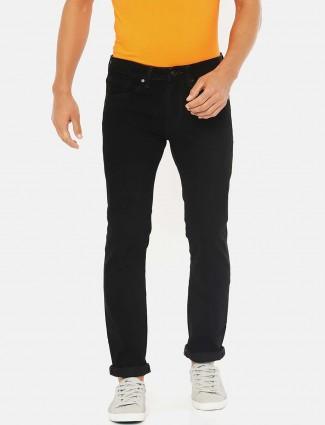 Pepe Jeans denim black solid jeans