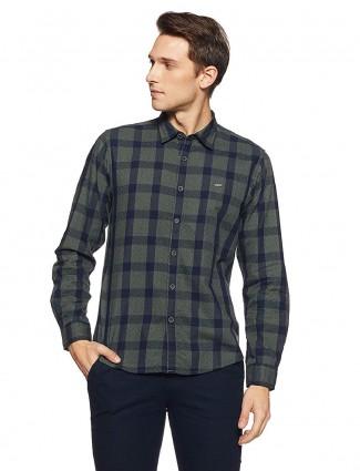 Pepe Jeans green checks pattern shirt
