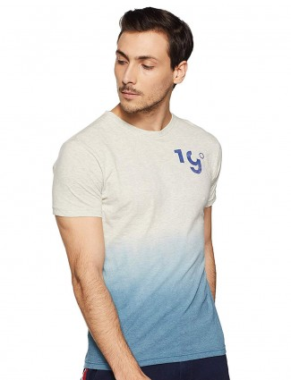 Pepe Jeans grey and blue shaded t-shirt