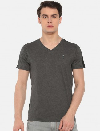 Pepe Jeans grey casual slim fit t-shirt