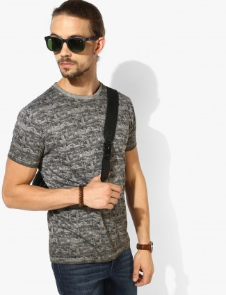 Pepe Jeans grey slim fit t-shirt